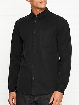 folk-stitch-pocket-shirt-black