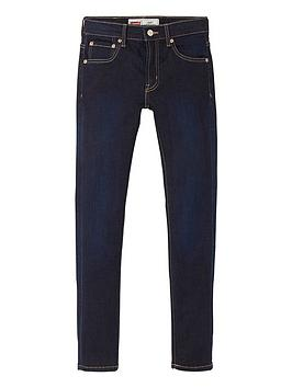 Levi's Boys 519 Classic Extreme Skinny Fit Jeans, Denim, Size Age: 2 Years thumbnail