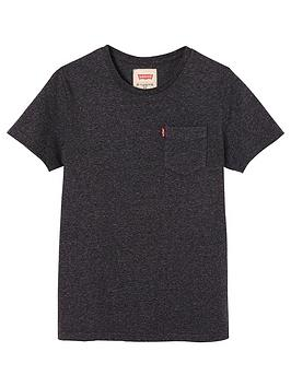 levis-boys-short-sleeve-tab-marl-t-shirt