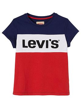 levis-girls-short-sleeve-colorblock-logo-t-shirt