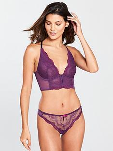 gossard-superboost-lace-deep-v-bralette-purple