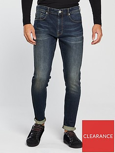v-by-very-mens-tapered-fit-jeans-dark-tint-vintage-wash