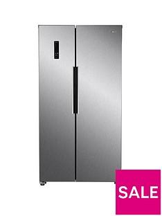 swan-sr15640s-total-no-frost-90cmnbspwide-american-style-fridge-freezer-stainless-steel-look