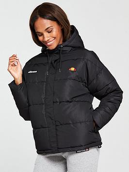 Ellesse Pejo Padded Jacket - Black