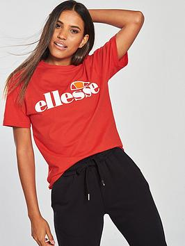 Ellesse Heritage Albany T-Shirt - Red