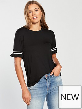 v-by-very-stripe-trim-t-shirt-black