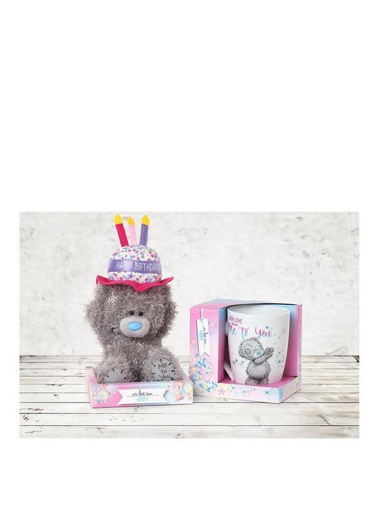 Me To You Happy Birthday Boxed Mug And Bear Gift Set