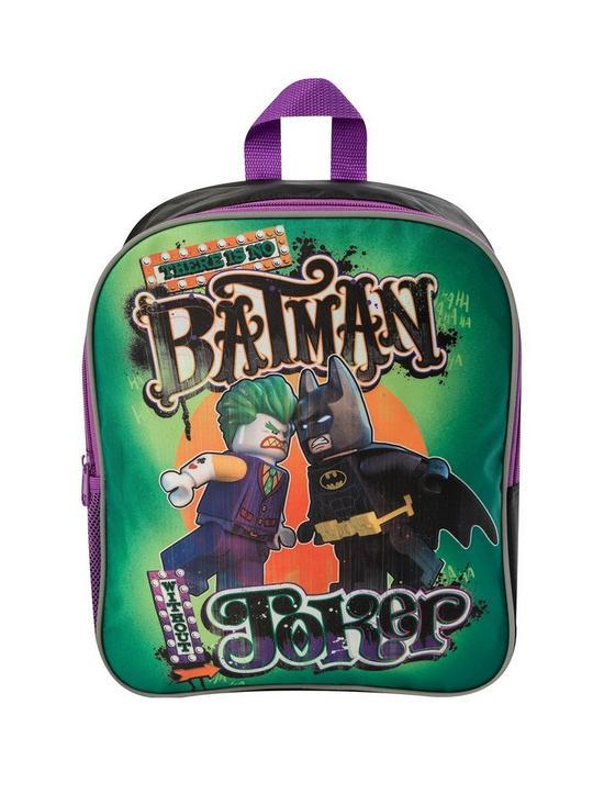 994bc6fa13e2 LEGO Batman Lego Batman - Joker Backpack and Lunch Bag Set