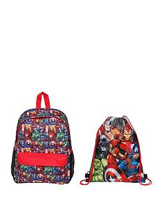 marvel-backpack-and-shoe-bag