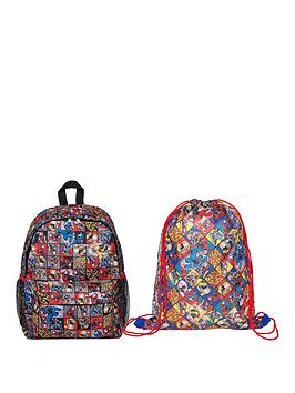 power-rangers-backpack-and-shoe-bag