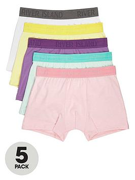 river-island-5pk-pastel-pop-trunks