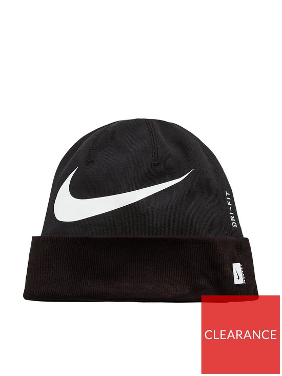 Nike Swoosh Cuffed Training Beanie Hat  f749df3f080