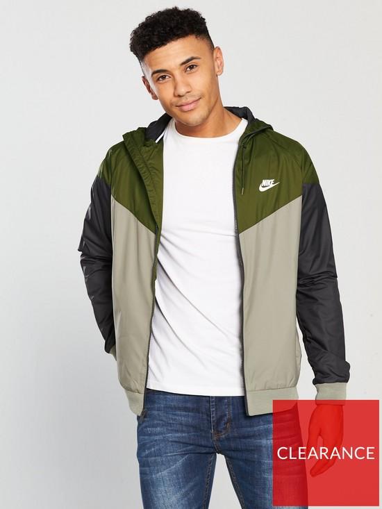 8212083f64ab Nike Sportswear Windrunner Jacket - Olive
