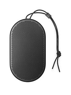 B&O Play Beoplay by Bang & Olufsen P2 Wireless Bluetooth Portable Premium Audio Speaker - Black