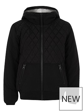 river-island-boys-black-quilted-hooded-jacket