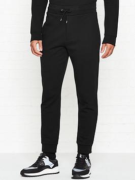 mcq-alexander-mcqueen-cube-logo-rib-sweatpants-black