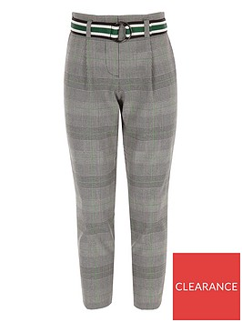 river-island-girls-green-check-belted-trousers