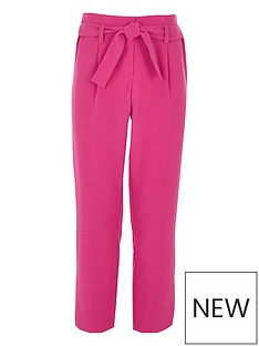 river-island-girls-pink-tie-front-trousers