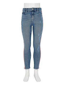 river-island-girls-blue-amelie-side-stripe-skinny-jeans