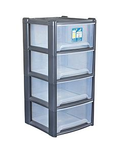 wham-4-drawer-tower-storage-unit-in-grey