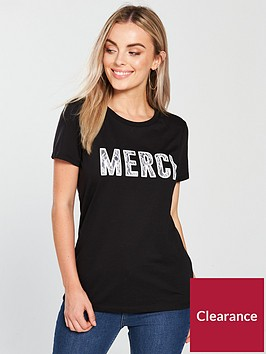 v-by-very-petite-slogan-jersery-t-shirt