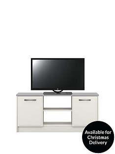 LuganoReady Assembled TV Unit - fits up to 60 inch TV