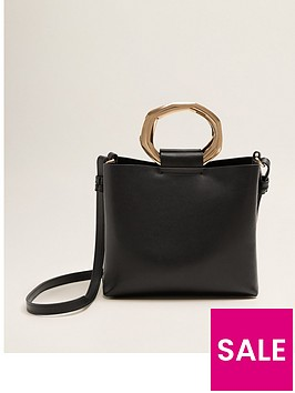mango-metal-hoop-bag-black