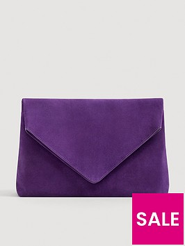 mango-leather-envelopenbspclutch-purple