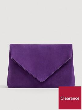 mango-leather-envelopenbspclutch-purple