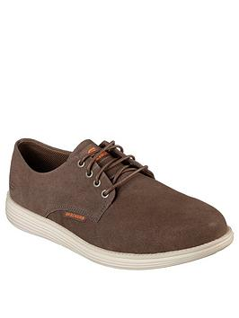 skechers-plain-toe-lace-up-suede-shoe