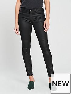 mango-belle-coated-skinny-jeans-black
