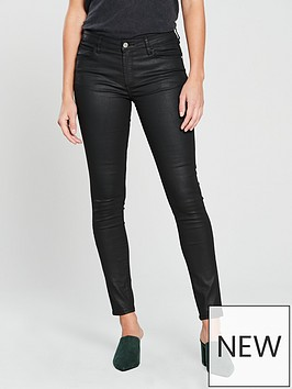 mango-belle-coated-skinny-jeans-black