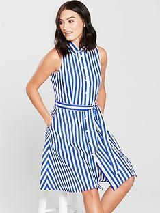 mango-wendy-stripe-dress-whiteblue
