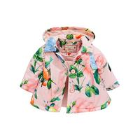 2df8c6a209a5 Baker by Ted Baker Baby Girls Rose Lightweight Mac