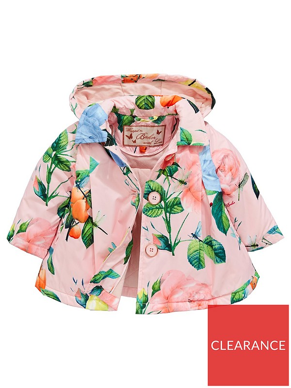 f1a89bf865a76f Baker by Ted Baker Baby Girls Rose Lightweight Mac