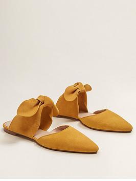 mango-cutout-bow-flats-ochre