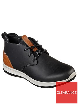 skechers-delson-lace-up-boots-black