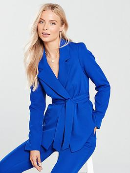 v-by-very-belted-jacket-cobalt