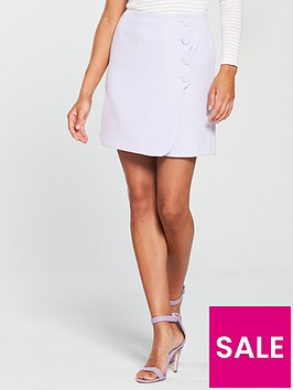 v-by-very-scallop-detail-skirt