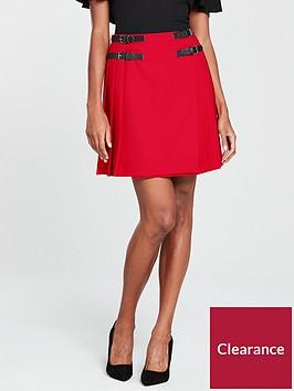 v-by-very-pleated-kilt-skirt-red
