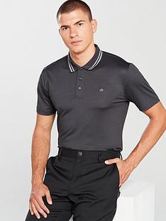 563c1755a361 Calvin Klein Golf Harlem Tech Polo
