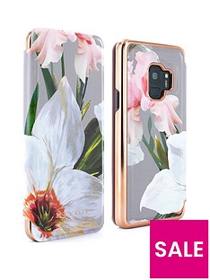 ted-baker-ted-baker-mirror-folio-case-samsung-galaxy-s9-ndash-chatsworth-bloom-mid-grey