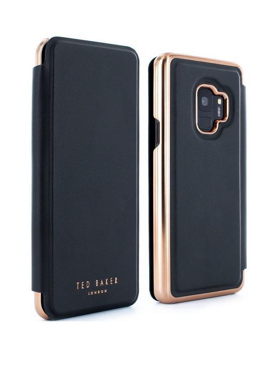 low priced c9945 7e80d Samsung Galaxy S9, Mirror Folio Case – Shanoe/Black