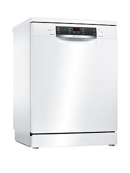 Bosch Serie 4 Sms46Iw09G 13-Place Setting Full Size Dishwasher With Activewater&Trade; Technology - White