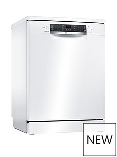 Bosch Serie 4 SMS46IW04G 13-Place Settings Full Size Dishwasher with ActiveWater™ Technology - White Best Price, Cheapest Prices