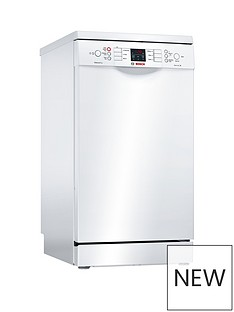 Bosch Serie 4SPS46IW00G9-Place Settings Slimline Dishwasher with ActiveWater™Technology - White Best Price, Cheapest Prices