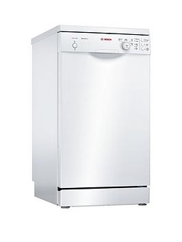 Bosch Serie 2 Sps24Cw00G 9-Place Settings Slimline Dishwasher With Activewater&Trade; Technology - White