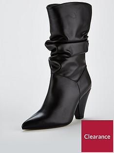 carvela-carvela-scrunch-blackleather-leather-calf-boot