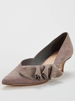 Kg Cara Heeled Kitten Shoe