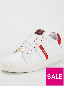 carvela-lisa-leather-trainer-white